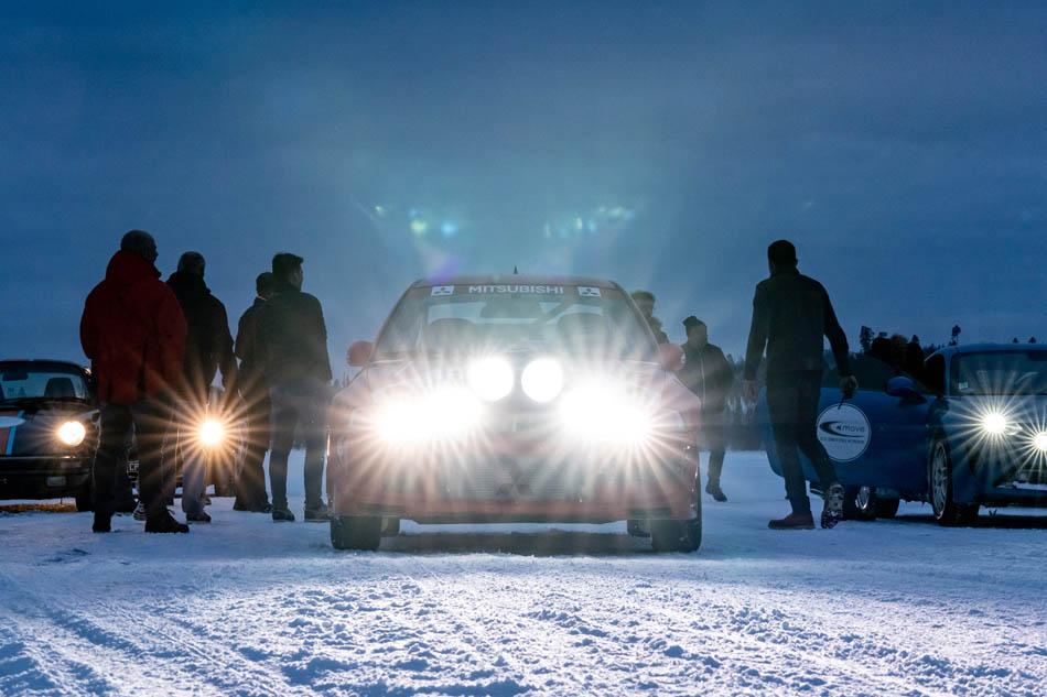 Ice Driving en Laponie